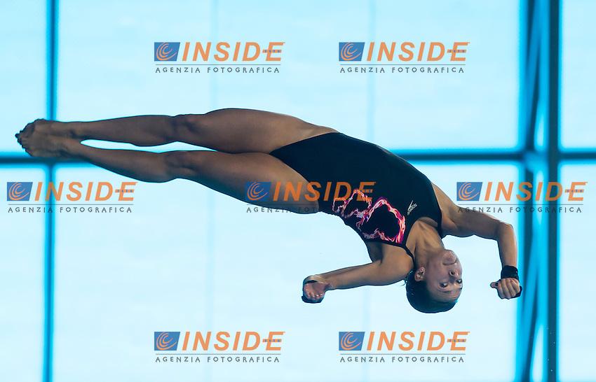 COUCH Tonia GBR<br /> London, Queen Elizabeth II Olympic Park Pool <br /> LEN 2016 European Aquatics Elite Championships <br /> Diving<br /> Women's 10m platform preliminary <br /> Day 05 13-05-2016<br /> Photo Giorgio Perottino/Deepbluemedia/Insidefoto