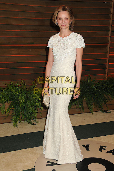 02 March 2014 - West Hollywood, California - Calista Flockhart. 2014 Vanity Fair Oscar Party following the 86th Academy Awards held at Sunset Plaza. <br /> CAP/ADM/BP<br /> &copy;Byron Purvis/AdMedia/Capital Pictures