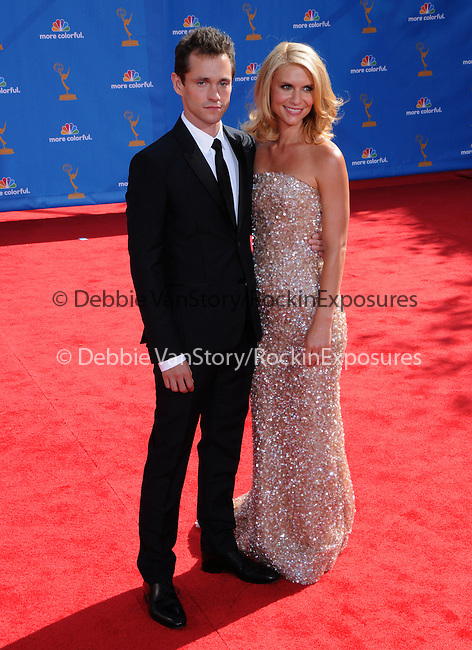 Claire Danes & Hugh Dancy at The 62nd Anual Primetime Emmy Awards held at Nokia Theatre L.A. Live in Los Angeles, California on August 29,2010                                                                   Copyright 2010  DVS / RockinExposures