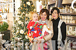 Naoise O'Connor, Antionette Sayers and Noreen O'Mahony at Elizabelle Interiors, Church St, Listowel.