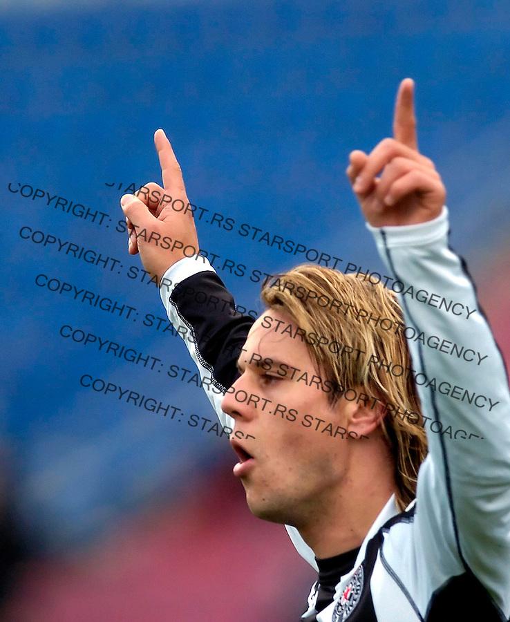 fudbal, sezona 2005/2006&amp;#xA;PARTIZAN-OBILIC&amp;#xA;SRDJAN RADONJIC&amp;#xA;BGD, 26.11.2005.&amp;#xA;FOTO: SRDJAN STEVANOVIC<br />