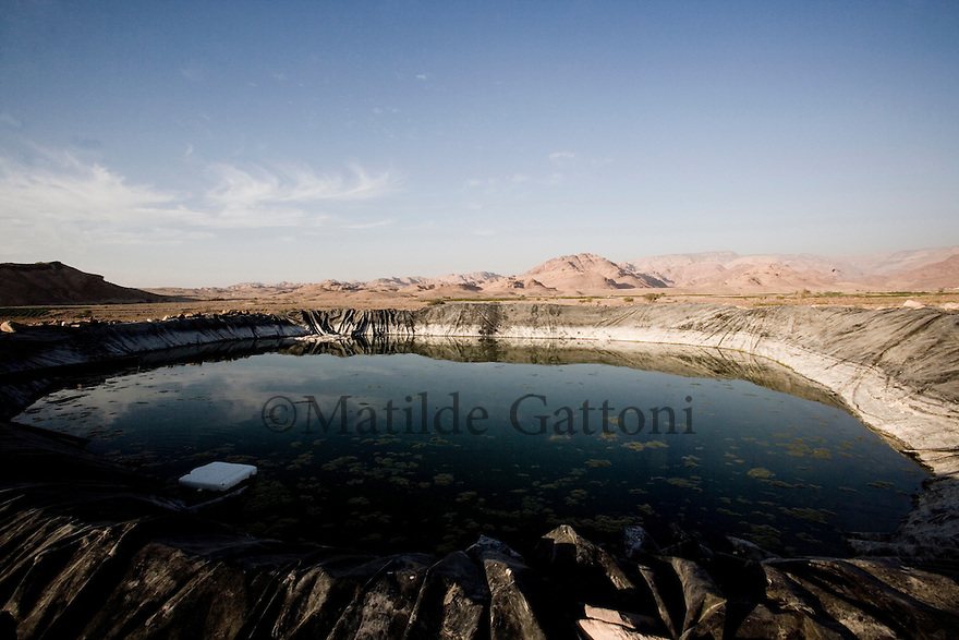 JORDAN - WATER RESERVOIR FOR FARMS IN WADI FYNAN