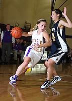 Girls Varsity Basketball vs University 11-19-09