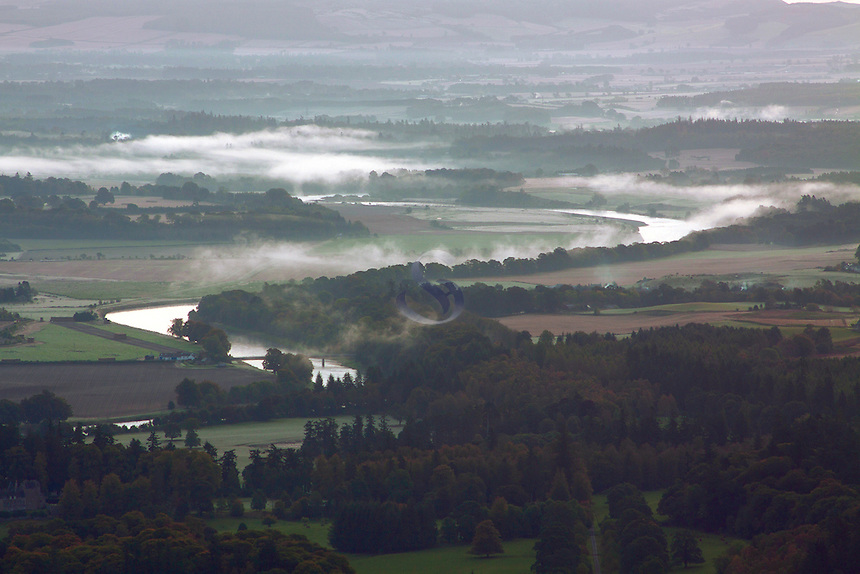 The River Tay from Birnam Hill, Birnam, Perthshire