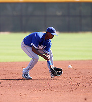 Ramon Jean / Los Angeles Dodgers 2008 Instructional League..Photo by:  Bill Mitchell/Four Seam Images