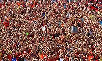 RECIFE-PE-02,12,2018 - SPORT - SANTOS - Torcida do Sport durante partida contra o Santos em  jogo válido pela 38ª Rodada do Campeonato Brasileiro 2018, na Ilha do Retiro, Zona Oeste do Recife, neste domingo,02. (Foto: Jean Nunes/Brazil Photo Press)