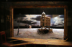 'An Inspector Calls' Set Model at Curtain Up: Celebrating the Last 40 Years of Theatre in New York and London Exhibition on June 14, 2017 at the New York Public Library for the Performing Arts at Lincoln Center.