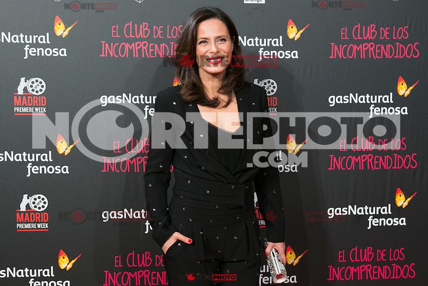 Aitana Sanchez Gijon attend the Premiere of the movie &quot;El club de los incomprendidos&quot; at callao Cinema in Madrid, Spain. December 1, 2014. (ALTERPHOTOS/Carlos Dafonte) /NortePhoto<br /> /NortePhoto