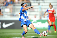 Boyds, MD - Saturday August 12, 2017: Amanda Frisbie during a regular season National Women's Soccer League (NWSL) match between the Washington Spirit and The Boston Breakers at Maureen Hendricks Field, Maryland SoccerPlex.