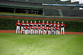 August 8, 2009:  Photo of the Baseball Factory team during the Under Armour All-America event at Wrigley Field in Chicago, Illinois.  (Copyright Mike Janes Photography)