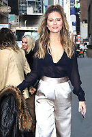 NEW YORK, NY - December 06:  Jac Vanek, seen after an appearance on  Michelle Collins Show at SiriusXM promoting the new E! show LadyGang on December 06, 2018  in New York City. Credit: RW/MediaPunch