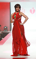 NEW YORK, NY February 08, 2018:Rachel Lindsay, attend  American Heart Association's® Go Red For Women® Red Dress Collection® 2018 at Hammerstein Ballroom in New York. February 08, 2018. Credit:RW/MediaPunch