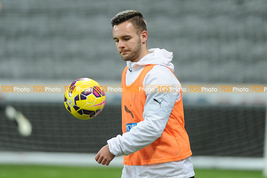 Adam Armstrong of Newcastle United - Newcastle United Under-21 vs Arsenal Under-21 - Barclays Under-21 Premier League Football at St James Park, Newcastle United FC - 09/02/15 - MANDATORY CREDIT: Steven White/TGSPHOTO - Self billing applies where appropriate - contact@tgsphoto.co.uk - NO UNPAID USE