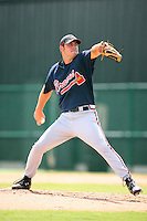 August 12, 2008: Kyle Farrell of the GCL Braves.  Photo by: Chris Proctor/Four Seam Images