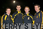 Crokes backbone Kieran O'Leary, Mike Moloney, Colm Cooper and Eoin Brosnan..