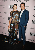 LOS ANGELES, CA - OCTOBER 19: Stephanie Corneliussen and Len Wiseman attend L.A. Dance Project's Annual Gala at Hauser & Wirth on October 19, 2019 in Los Angeles, California.<br /> CAP/ROT/TM<br /> ©TM/ROT/Capital Pictures