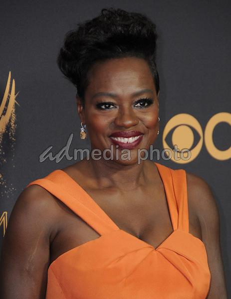 17 September  2017 - Los Angeles, California - Viola Davis. 69th Annual Primetime Emmy Awards - Arrivals held at Microsoft Theater in Los Angeles. Photo Credit: Birdie Thompson/AdMedia