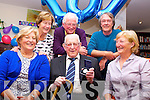 Michael Dowling Ross Road Killarney celebrated his 101st birthday with his family and friends in Our Lady of Lourdes care facility Kilcummin on Friday with his daughters Bridget Withey and Maria Lynch and her husband John, son Michael and his wife Mary