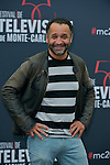 Samot Yannig poses at a photocall for the TV series 'Peps' during the 55th Monte Carlo TV Festival on June 13, 2015 in Monte-Carlo, Monaco
