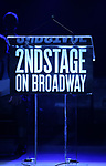 Stage atmosphere during the Second Stage Theater Broadway lights up the Hayes Theatre at the Hayes Theartre on February 5, 2018 in New York City.