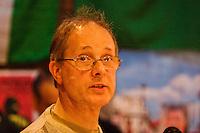 Wilf Owen (Stalin Society) speaking at the Memorial Meeting honouring Godfrey Cremer's life, Saklatvala Hall, Southall, 12th May 2012