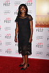 HOLLYWOOD, CA - NOVEMBER 05: AFI Fest Director Jacqueline Lyanga arrives at the AFI FEST 2015 presented by Audi Opening Night Gala Premiere of Universal Pictures' 'By The Sea' at TCL Chinese 6 Theatres on November 5, 2015 in Hollywood, California.