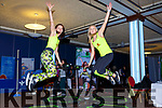 Aisling Howe and Veronika Polakova from Jumping Kerry  at the Balance expo in the INEC on Sunday