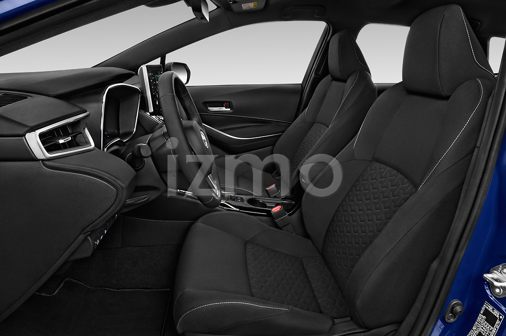 Front seat view of a 2019 Toyota Corolla Touring Sports Dynamic 5 Door Wagon front seat car photos