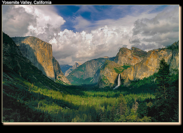 Yosemite Valley attracted naturalist John Muir and photographer Ansel Adams.<br />