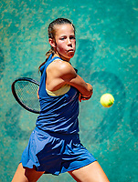 Hilversum, Netherlands, August 6, 2018, National Junior Championships, NJK, Veerle Tibben (NED)<br /> Photo: Tennisimages/Henk Koster