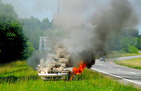 Car Fire Explosion By Jonathan Green