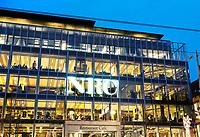 Nederland - Amsterdam -  2018. Het NRC  aan het Rokin.   Foto Berlinda van Dam / Hollandse Hoogte
