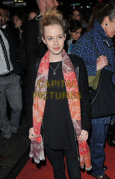 Holli Dempsey attends the &quot;People, Places and Things&quot; VIP opening night, Wyndham's Theatre, Charing Cross Road, London, UK, on Wednesday 23 March 2016.<br /> CAP/CAN<br /> &copy;Can Nguyen/Capital Pictures