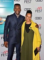 LOS ANGELES, CA. November 09, 2018: Mahershala Ali &amp; Amatus Sami-Karim at the AFI Fest 2018 world premiere of &quot;Green Book&quot; at the TCL Chinese Theatre.<br /> Picture: Paul Smith/Featureflash