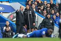 Rafa Benitez (Manager) of Newcastle United during the Premier League match between Chelsea and Newcastle United at Stamford Bridge, London, England on 2 December 2017. Photo by David Horn.