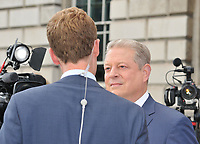 Martin Stew and Al Gore at the &quot;An Inconvenient Sequel: Truth to Power&quot; Film4 Summer Screen opening gala, Somerset House, The Strand, London, England, UK, on Thursday 10 August 2017.<br /> CAP/CAN<br /> &copy;CAN/Capital Pictures /MediaPunch ***NORTH AND SOUTH AMERICAS ONLY***