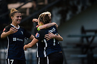 Seattle, WA - Saturday, June 30, 2018: Seattle Reign FC vs Portland Thorns at the UW Medicine Pitch at Memorial Stadium.