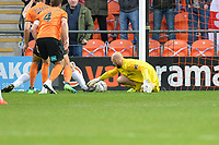 Mark Cousins Of Barnet makes a save during Barnet vs Stockport County, Emirates FA Cup Football at the Hive Stadium on 2nd December 2018