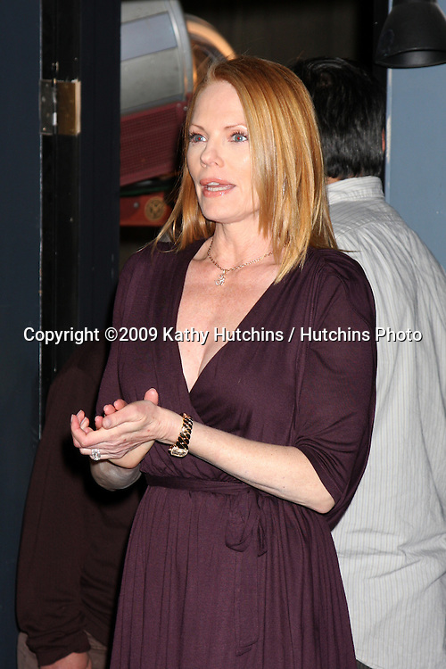 Marg Helgenberger at the 200th Episode Celebration of CSI (LasVegas) at the CSI set on Universal Backlot in Los Angeles, CA on .February 10, 2009.©2009 Kathy Hutchins / Hutchins Photo..                .