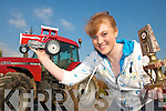 .CHAMPION: Laura Collins from Kilmoyley who is now the top female Tractor Puller in Ireland.   Copyright Kerry's Eye 2008
