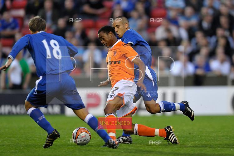 04/08/2009 Pre Season Friendly Blackpool v Everton<br /> <br /> <br /> <br /> &copy; Phill Heywood<br /> tel 07806 775649