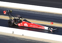 Oct 14, 2019; Concord, NC, USA; NHRA top fuel driver Doug Kalitta during the Carolina Nationals at zMax Dragway. Mandatory Credit: Mark J. Rebilas-USA TODAY Sports