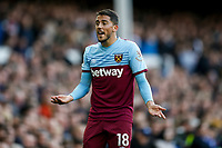 Pablo Fornals of West Ham United during the Premier League match between Everton and West Ham United at Goodison Park on October 19th 2019 in Liverpool, England. (Photo by Daniel Chesterton/phcimages.com)<br /> Foto PHC/Insidefoto <br /> ITALY ONLY
