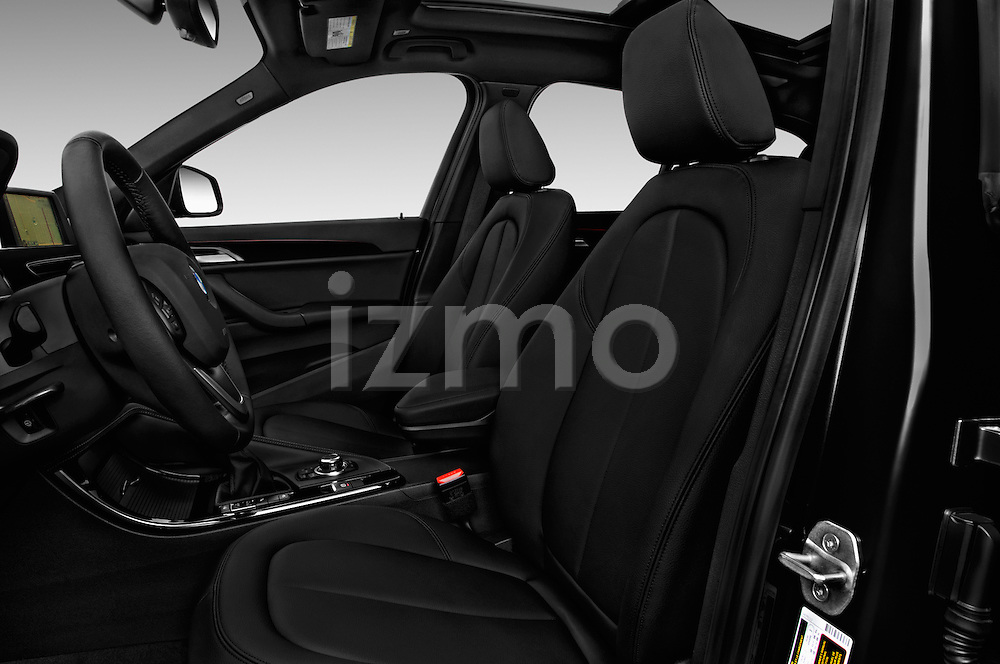 Front seat view of 2017 BMW X1 xDrive28i 5 Door SUV Front Seat  car photos