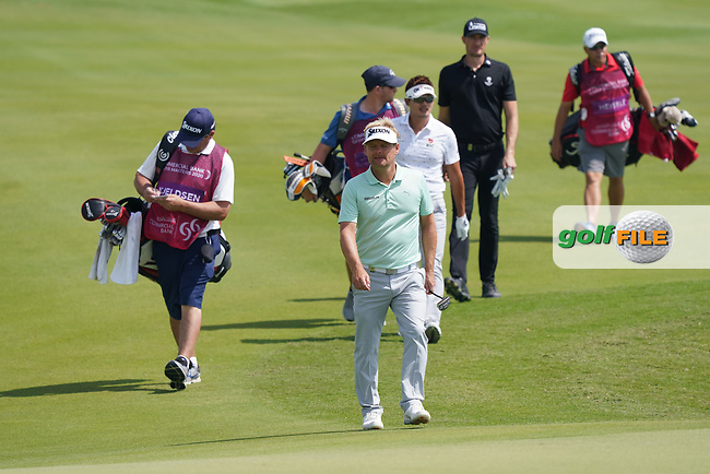 Soren Kjeldsen (DEN) during the third round of the Commercial Bank Qatar Masters 2020, Education City Golf Club , Doha, Qatar. 07/03/2020<br /> Picture: Golffile   Phil Inglis<br /> <br /> <br /> All photo usage must carry mandatory copyright credit (© Golffile   Phil Inglis)