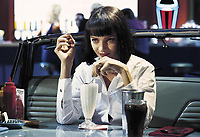 Uma Thurman<br /> in Pulp Fiction (1994)<br /> *Filmstill - Editorial Use Only*<br /> CAP/NFS<br /> Image supplied by Capital Pictures