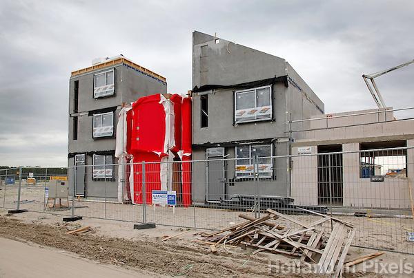 Bouwwerkzaamheden in Almere
