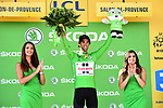 Michael Matthews (AUS) Team Sunweb retains the Green Jersey at the end of Stage 19 of the 104th edition of the our de France 2017, running 222.5km from Embrun to Salon-de-Provence, France. 21st July 2017.<br /> Picture: ASO/Alex Broadway | Cyclefile<br /> <br /> <br /> All photos usage must carry mandatory copyright credit (&copy; Cyclefile | ASO/Alex Broadway)