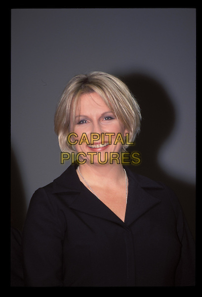 JENNIFER SAUNDERS.Ref:10160.blonde bob, smiling, headshot, portrait.RAW SCAN - PHOTO WILL BE ADJUSTED FOR PUBLICATION.www.capitalpictures.com.sales@capitalpictures.com.©Capital Pictures.
