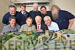 Getting ready for the Model Railway project which opens on Friday night at Blennerville Windmill, front from Left: Gene Lacey, Vincent Hayes, Billy Nolan and Mike O'Donnell.<br /> Back from left: Harry Kelliher, Michael Curran, Brendan O'Brien and Mike Neill.
